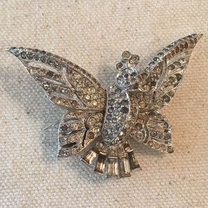 Vintage Alfred Phillippe Trifari Bird Clip Pin
